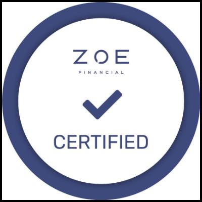 zoe certified logo